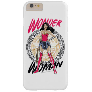 Wonder Woman With Greek Tribal Emblem Barely There iPhone 6 Plus Case