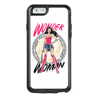 Wonder Woman With Greek Tribal Emblem OtterBox iPhone 6/6s Case