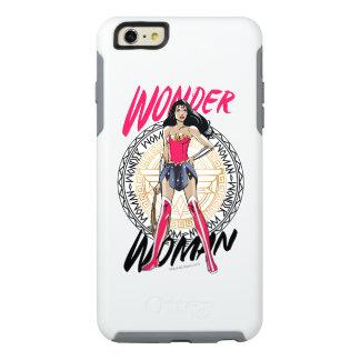 Wonder Woman With Greek Tribal Emblem OtterBox iPhone 6/6s Plus Case