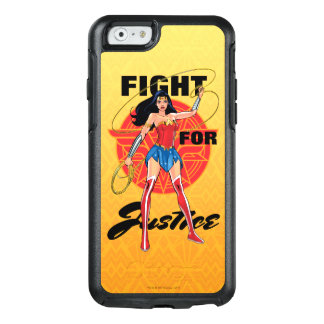 Wonder Woman With Lasso - Fight For Justice OtterBox iPhone 6/6s Case