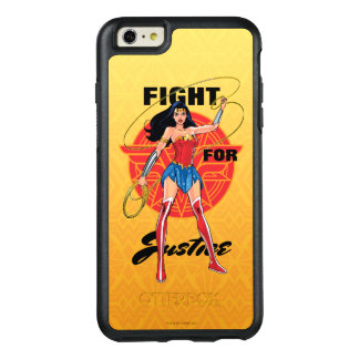 Wonder Woman With Lasso - Fight For Justice OtterBox iPhone 6/6s Plus Case