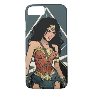 Wonder Woman With Sword Comic Art iPhone 8/7 Case