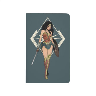 Wonder Woman With Sword Comic Art Journal
