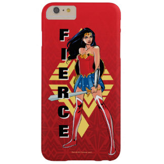 Wonder Woman With Sword - Fierce Barely There iPhone 6 Plus Case