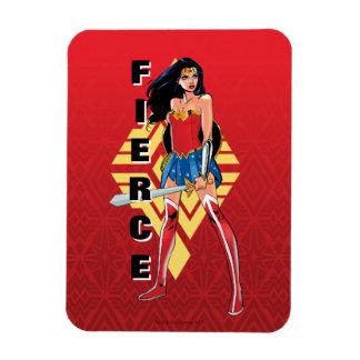 Wonder Woman With Sword - Fierce Magnet