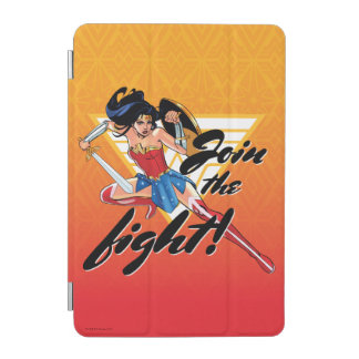 Wonder Woman With Sword - Join The Fight iPad Mini Cover