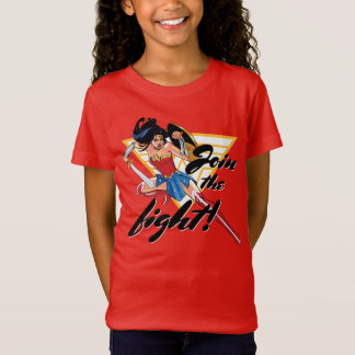 Wonder Woman With Sword - Join The Fight T-Shirt