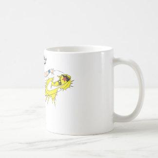 Wonder WomanThrows Crown Classic White Coffee Mug
