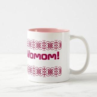 Wonder Womom! Two-Tone Coffee Mug
