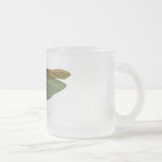"""Wonder World"" - Locust Frosted Glass Coffee Mug"
