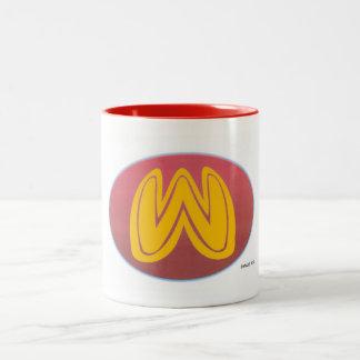 wonder worm emblem mug