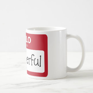 wonderful 001 basic white mug