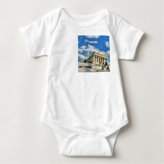 Wonderful Acropolis in Athens Baby Bodysuit