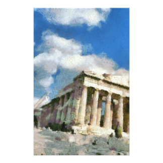 Wonderful Acropolis in Athens Customized Stationery