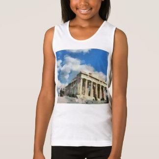 Wonderful Acropolis in Athens Tank Top