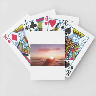Wonderful and Incredible Sunset in the Philippines Bicycle Playing Cards