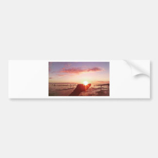 Wonderful and Incredible Sunset in the Philippines Bumper Sticker