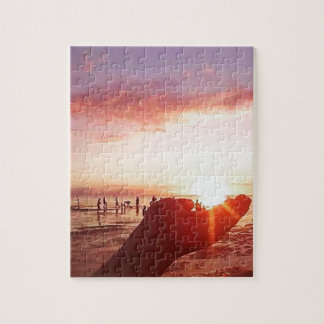 Wonderful and Incredible Sunset in the Philippines Jigsaw Puzzle