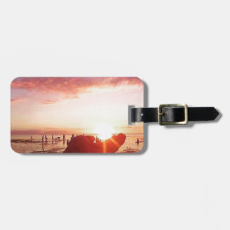 Wonderful and Incredible Sunset in the Philippines Luggage Tag