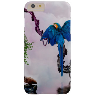 Wonderful blue parrot barely there iPhone 6 plus case