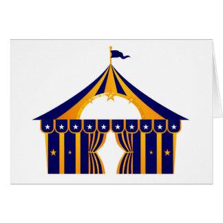 Wonderful blue Tent Card