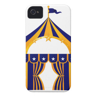 Wonderful blue Tent iPhone 4 Case-Mate Cases