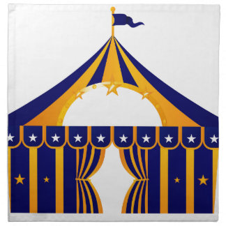 Wonderful blue Tent Napkin