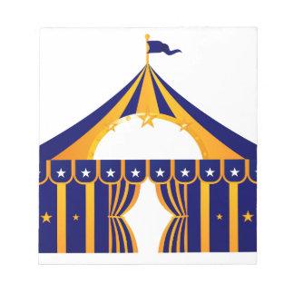 Wonderful blue Tent Notepads