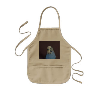 Wonderful Budgie Kids Apron
