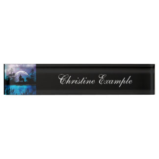 Wonderful centaur silhouette desk nameplates