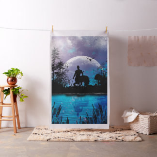 Wonderful centaur silhouette fabric