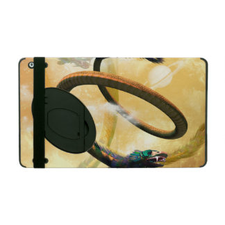 wonderful chinese dragon in the universe iPad covers