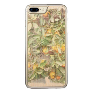 Wonderful Chinese Orange plant Carved iPhone 7 Plus Case