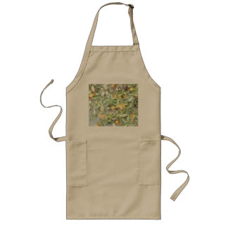 Wonderful Chinese Orange plant Long Apron