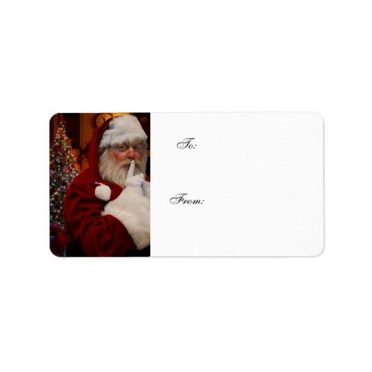 Wonderful Christmas presents label