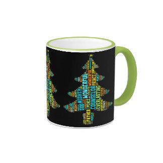 Wonderful Counsellor Mighty God Prince of Peace Ringer Mug