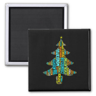 Wonderful Counselor Mighty God Prince of Peace Magnet