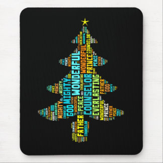 Wonderful Counselor Mighty God Prince of Peace Mouse Pad