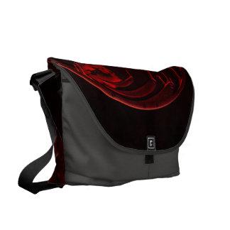 Wonderful crow courier bag