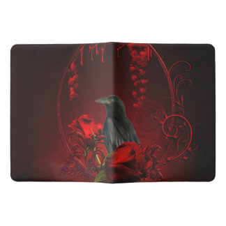 Wonderful crow extra large moleskine notebook