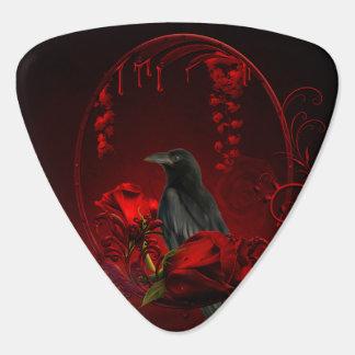 Wonderful crow guitar pick