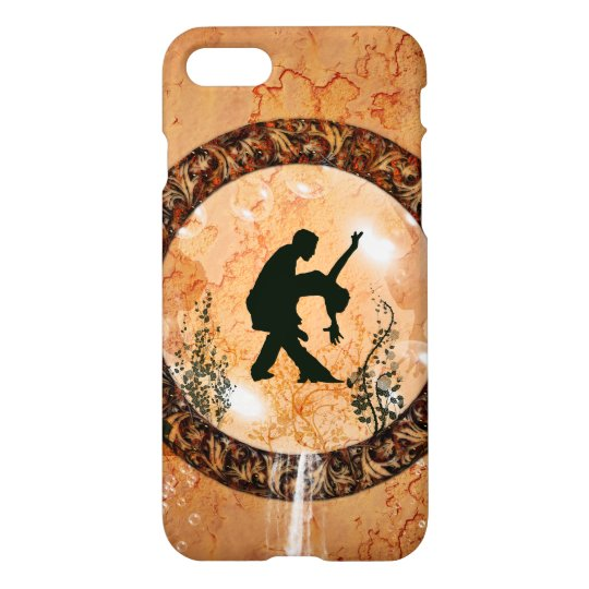 Wonderful dancing couple iPhone 8/7 case