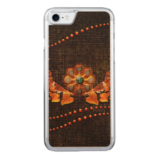 Wonderful decorative design carved iPhone 7 case