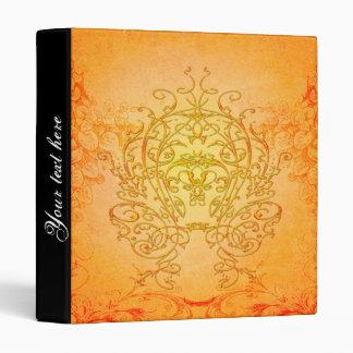 Wonderful decorative floral elements vinyl binders