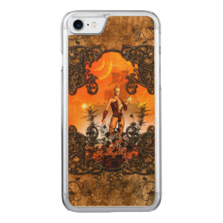 Wonderful fairy carved iPhone 8/7 case