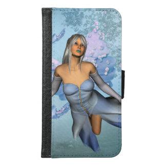 Wonderful fairy with fantasy birds samsung galaxy s6 wallet case