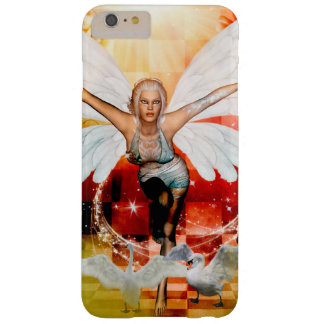 Wonderful fairy with swan barely there iPhone 6 plus case