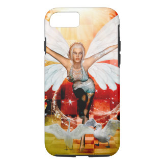 Wonderful fairy with swan iPhone 7 case