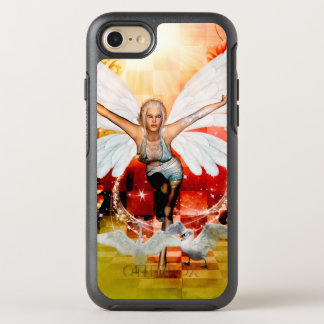 Wonderful fairy with swan OtterBox symmetry iPhone 7 case