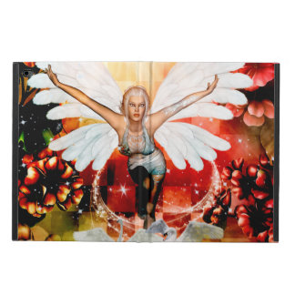 Wonderful fairy with swan powis iPad air 2 case
